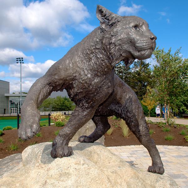 UNH Wildcat Sculpture