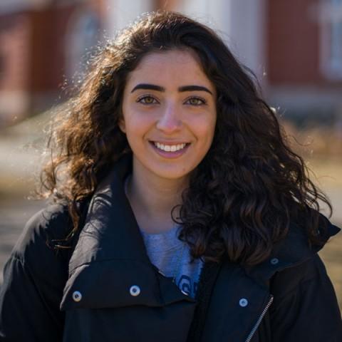 UNH student Nooran Alhamdan
